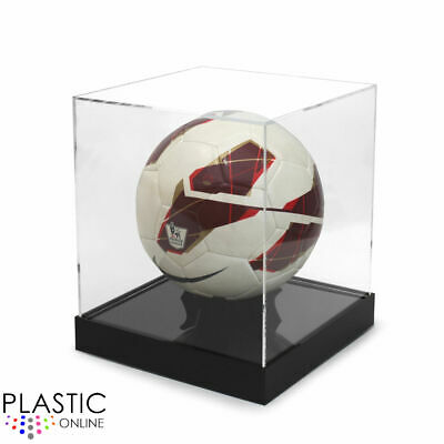 Football Display Case Football Riser Stand Signed Autographed - MORE COLOURS