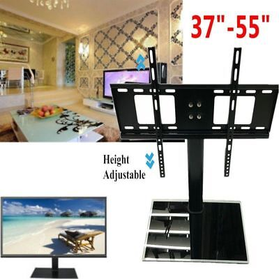 """Universal TV Stand/Base+Wall Mount for 37""""-55"""" Flat-Screen TVs US Shipping BP"""