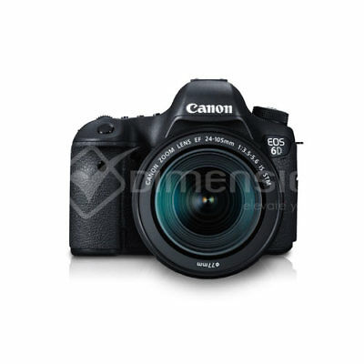Canon EOS 6D DSLR with 24-105mm f/3.5-5.6 STM Lens (Multi Language) Ship from US
