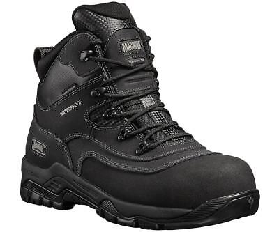 Magnum Broadside 6.0 black waterproof non-metal S3 safety boot with midsole 5-12