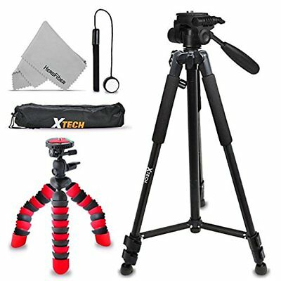 2 Tripods Kit for Canon EOS Rebel T7i T7 T6i T6S T6 T5i T5 T4i T3i T2i