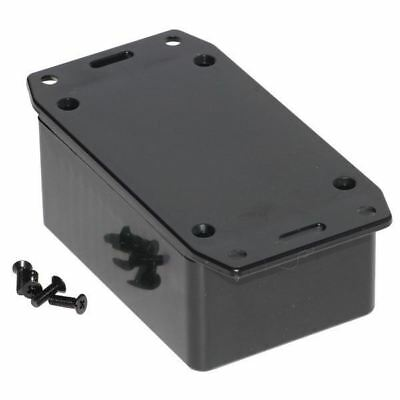 Hammond 1591LSFLBK Multipurpose GPABS Enclosure Flanged Lid 85 x 56 x 39 Black