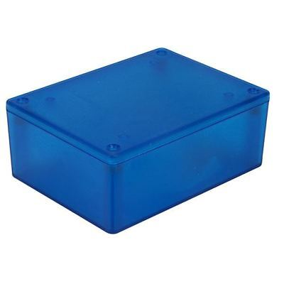 Hammond 1591XXSTBU ABS Enclosure Multipurpose Translucent Blue 110 x 82 x 44mm