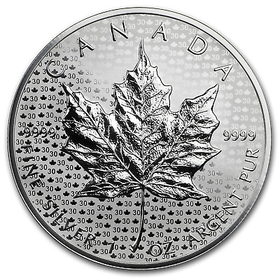 2018 Canada Silver 1 oz Maple Leaf Modified Reverse Proof - SKU#161189