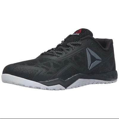 REEBOK Men s Ros Workout TR 2.0 Training Shoes Black Cross Training Sneakers 01066c61a