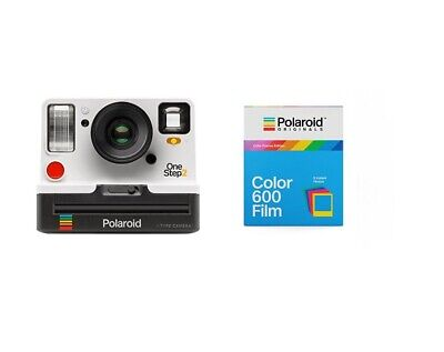 Polaroid OneStep2 i-Type Rechargeable Camera (White) + Color Film w/Color Frames