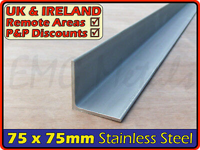 Stainless Steel Angle ║ 75 x 75 mm ║ marine,316,L section iron,profile,bracket