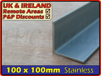 Stainless Steel Angle ║ 100 x 100 mm ║ marine,316,L section iron,profile,bracket