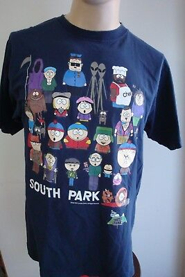 1998 South Park Official Comedy Central Collage T-Shirt Size Large