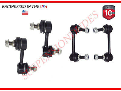 4PC Front/Rear Sway Bar Links For 2005-2009 Subaru Legacy Outback