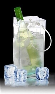 TCHILLBAG the smart ice bucket bag (clear colour) *BRAND NEW*