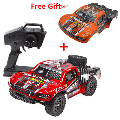 REMO 1:16 RC Truck 4WD 2.4Ghz Electric Car Off-Road Brushed Short Course SUV Red