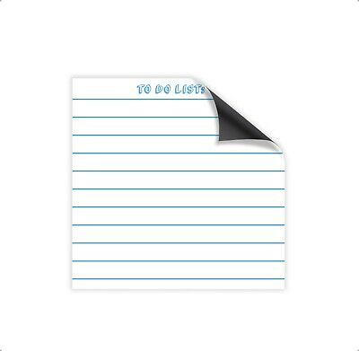 Magnetic DRY ERASE WHITE BOARD 8.5 x 8.5 in. TO DO LIST - Free shipping!