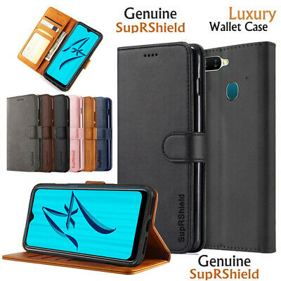 Premium Leather Wallet Card Holder Flip PU Case Cover For Oppo A73  F5 AX5