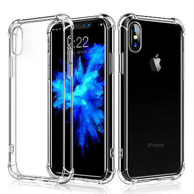 For iPhone X Edition Case Shockproof Slim PC Clear TPU Silicon Bumper Cover 2017