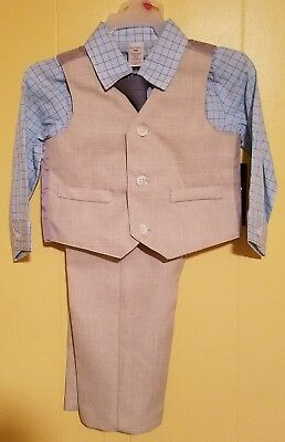 George 4pc Boys Suit Size 18 Months