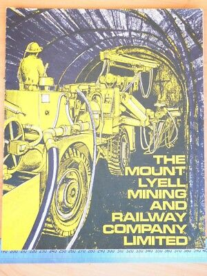 OLD THE MINING AND RAILWAYS COMPANY BOOK, BROCHURE (i115)