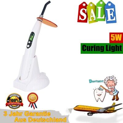 5W Dental Wireless Cordless Curing Light Lamp LED-B 1400mw Curando luz