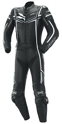 REDUCED IXS Ray Men's Leather Suit Two Piece Motorcycle Racing Sports Summer