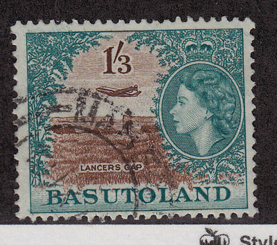 BASUTOLAND Used Scott # 53 Queen Elizabeth II & Lancers Gap (1 Stamp) -7