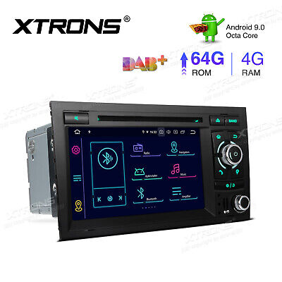 Android 8.0 4GB RAM For Audi A4 S4 RS4 Car Stereo DVD GPS Radio Player 1024*600