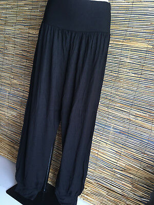 SPECIAL Lot of 4 spandex very good quality full length genie pants.Comfort plus.