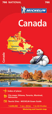 Canada National Map 2017 by Michelin (Sheet map, folded, 2017)
