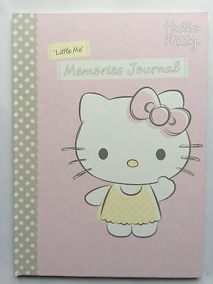 Hallmark Hello Kitty Baby Keepsake Record Book Christening Gift Memory Journal