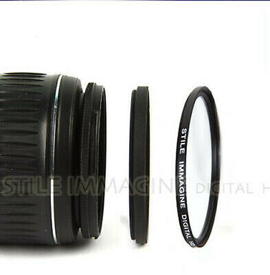 ADAPTER RING 46-49 FOR LENS ø 46 mm to FILTER ø 49 mm ITALY STEP UP