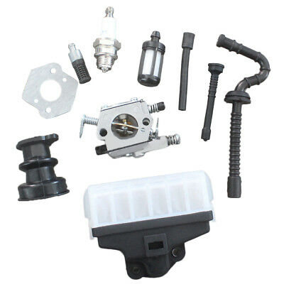 NEW Carburetor Air Filter Kit for Stihl MS210 MS230 MS250 021 023 025 Chainsaw