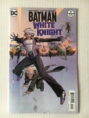 DC Comics: Batman White Knight #4 (of 8) Variant 2018 - BN - Bagged and Boarded