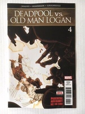 Marvel Comics: Deadpool Vs. Old Man Logan #4 (2018) - BN Bagged and Boarded