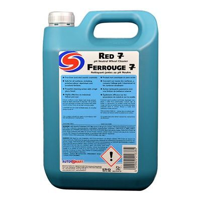 Autosmart Red 7 Wheel Cleaner/Fall Out Remover 5L! Next Day DPD Shipping