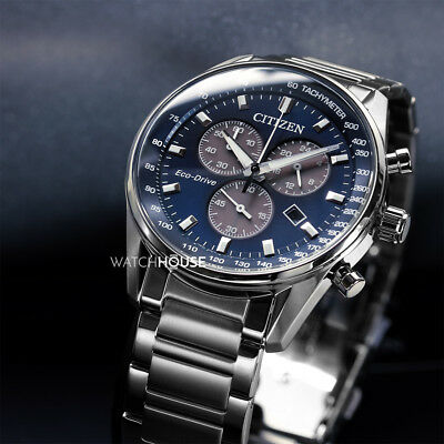 Citizen Sport Herren Armbanduhr AT2390-82L Solar Chronograph