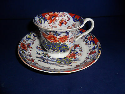 Antique Minton Amherst Cup & Saucer Japan Imari Pattern No 824 Circa 1830
