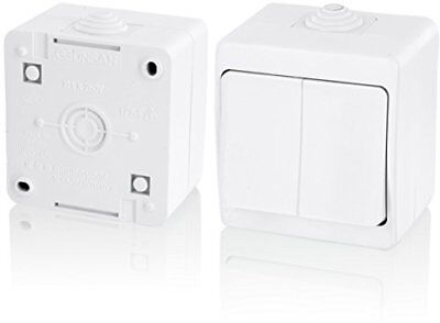 IP54 Moisture-Proof Series Switch Pure – All-in-one frame + Insert + Cover