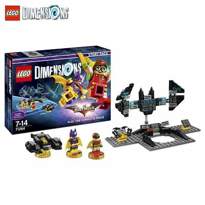 New LEGO Dimensions Batman Movie Story Pack Robin Batgirl Batwing Official