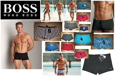 b27bee4536 New Hugo Boss Mens Designer Swimwear Swimming Shorts Briefs Speedo Trunks  Medium