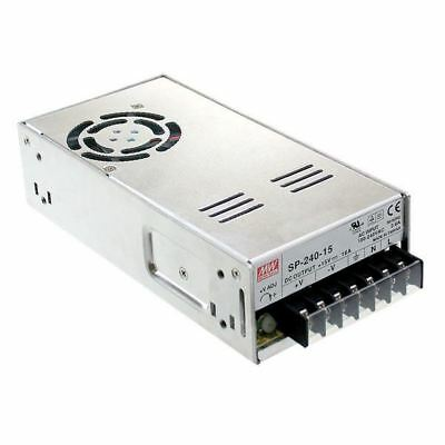 Mean Well SP-240-12 240W 12V Active PFC Enclosed Power Supply