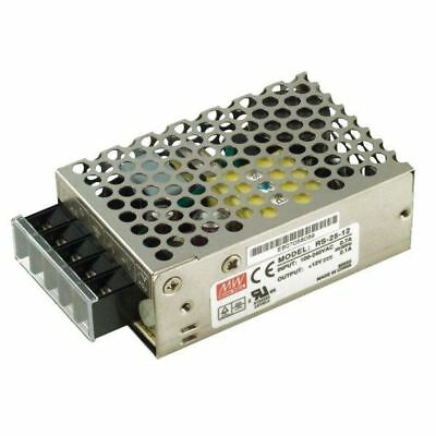 Mean Well RS-25-12 25.2W 12V Enclosed Power Supply