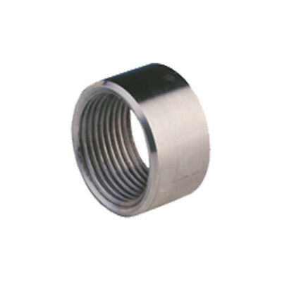 "STAINLESS STEEL 316 BSP HALF SOCKET - 1/8"" To 4""  -  RATED 150lb"