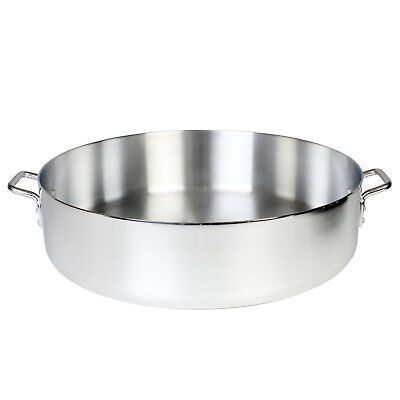 NSF Approved Durable Heavy Duty Aluminum Braiser/Pot with Lid