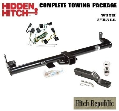 """FITS 1998-2006 JEEP WRANGLER  CLASS 3 TRAILER HITCH PACKAGE w  2"""" BALL 87431"""