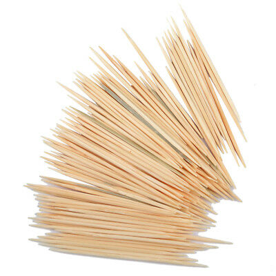 900pcs/bag Bamboo Tooth Picks Double Pointed Oral Care Toothpick Appetizer Stick