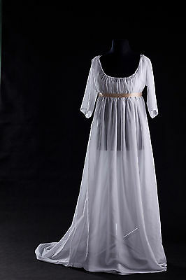 Custom Made - Stunning Regency Gown - Very Accurate Reproduction