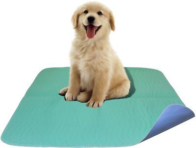 Quilted Washable Large Dog / Puppy Training Travel Pee Pads - Size 34 x 36