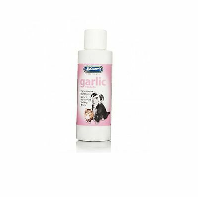 Johnsons 200 Garlic Tablets For Dogs Cats Natural Herb Remedy For Fleas & Worms