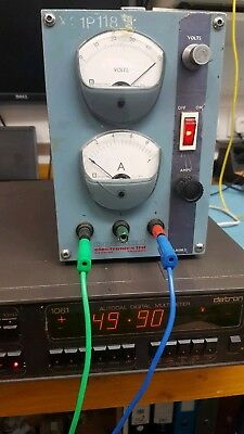 Coutant LA100 bench 0-50v 0-1A linear variable power supply PSU single channel