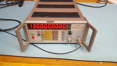 Racal 1998 Frequency Counter 1.3 GHz with options inc Oven controlled oscillator