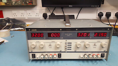 TTI PL320QMD Linear bench variable Power supply PSU twin channel 32V2A quad mode